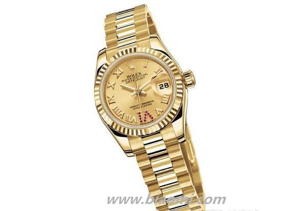 腕上的拜金主义 7款明晃黄金腕表亮瞎双眼 黄金腕表 收藏保养  第4张