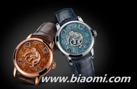 江诗丹顿推出艺术大师系列生肖猴年腕表