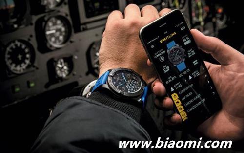 奢侈手表商发布智能产品 价格竟高达8900美元 奢侈手表 Exospace B55 智能手表 热点动态  第2张