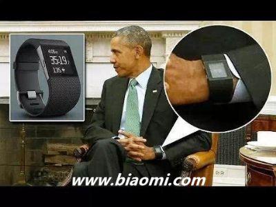 奥巴马也跟风:佩戴最新智能手表