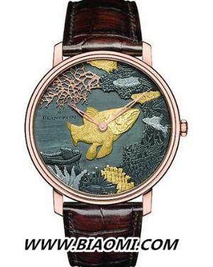 资深表迷喜爱 惊艳绝美珐琅腕表