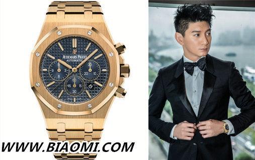 这些一展熟男气质的手表 明星们也都常戴腕间 天梭 宝珀 爱彼 靳东 李健 吴奇隆 热点动态  第1张