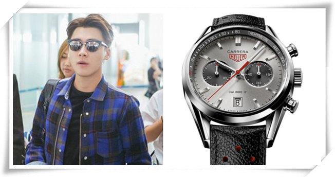 双十一购物指南——这几款明星同款手表很经典