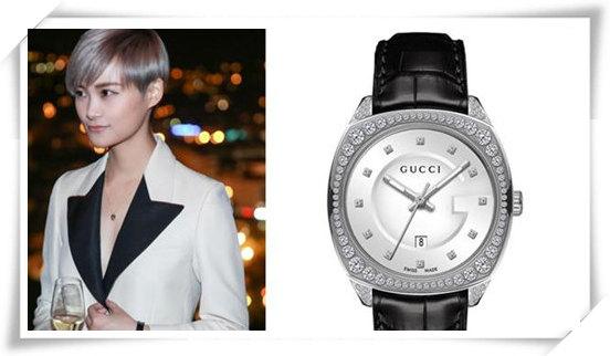 马伊琍和李宇春不同风格的两人 戴起手表来都很霸气
