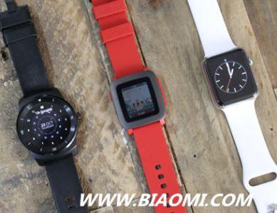 Apple Watch主导2015年智能手表市场