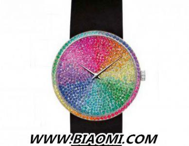迪奥La D de Dior系列彩虹腕表 展现时尚前卫风格
