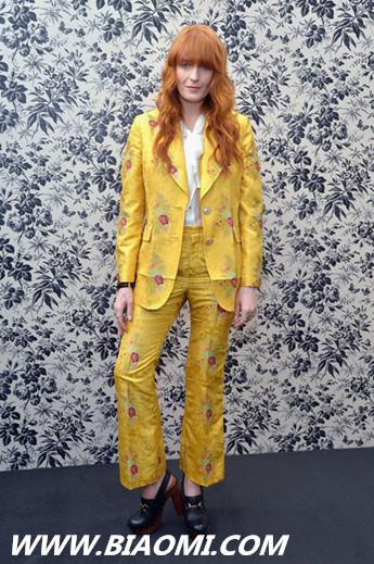 古驰全新腕表首饰代言人 Florence Welch 热点动态 第2张