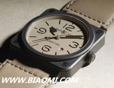 柏莱士全新BR 03 Desert Type腕表