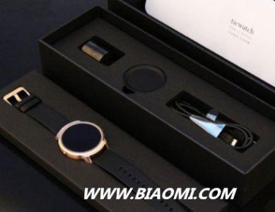 Ticwatch缎金版智能手表