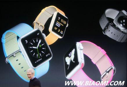 Apple Watch增加新颜色和新表带 降价至299美元