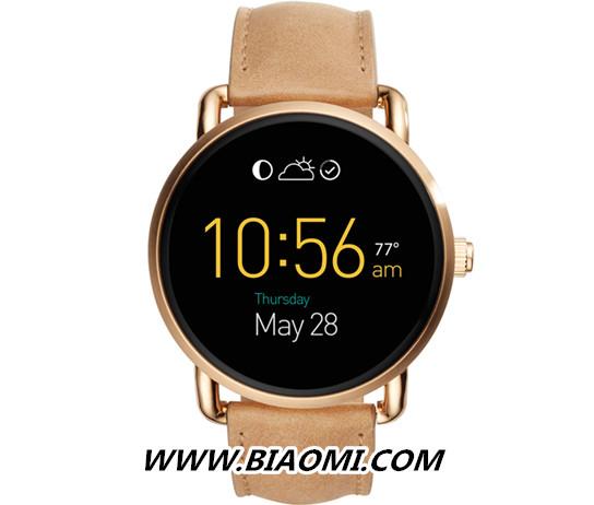 Fossil在Baselworld期间推出新款Android Wear 智能手表 智能手表 第2张
