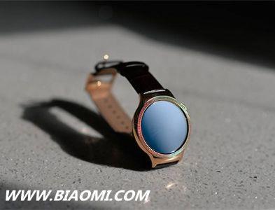 高颜值可穿戴产品——华为智能手表HUAWEI WATCH尊享系列