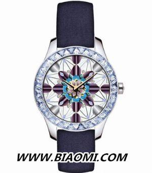 时装与腕表的自然融合 Dior系列腕表