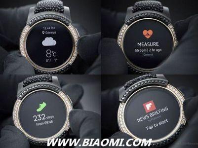 三星Gear S2镶钻限量版智能手表开始发售