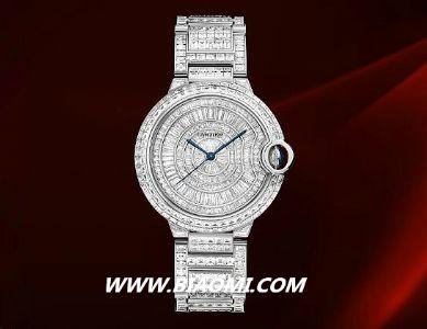谁说钻石手表是女性的专属?男士佩戴依然光彩照人