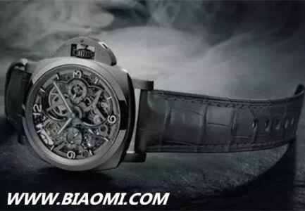 沛纳海推出世界首款3D打印钛金属腕表