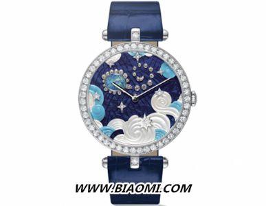 想要更加独特 就来款星座腕表吧——体验来自梵克雅宝表盘上的魅力