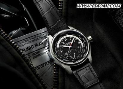 Alpina世界时自家机芯腕表