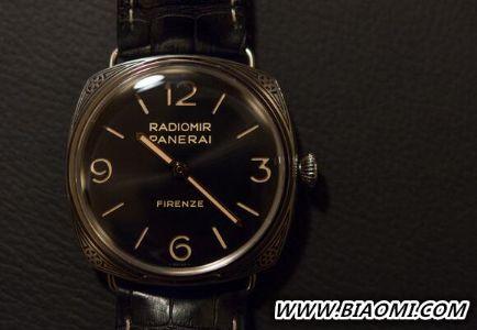 沛纳海推出Radiomir Firenze专卖店限量版腕表