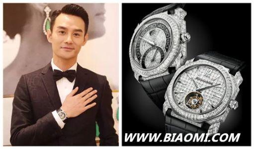 美手配美表 看王凯如何佩戴手表