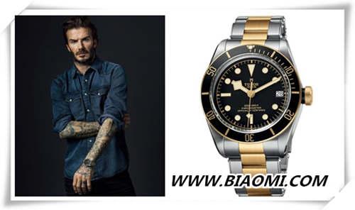 球场上的万人迷,全球的时尚偶像 佩戴腕表的贝克汉姆真的很有味道