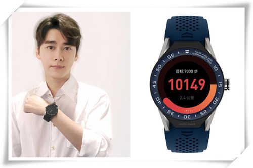angelababy,李易峰 品牌大使示范泰格豪雅智能腕表