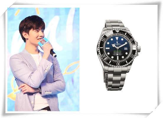 气质绝佳的他钟爱这款腕表 杨洋&劳力士腕表