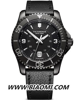 Victorinox瑞士维氏 Maverick Black Edition 腕表 名表赏析 第1张