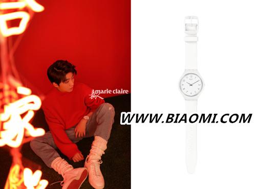 新的一年 炽热的色彩 王俊凯再登时尚封面 演绎swatch腕表 热点动态 第2张