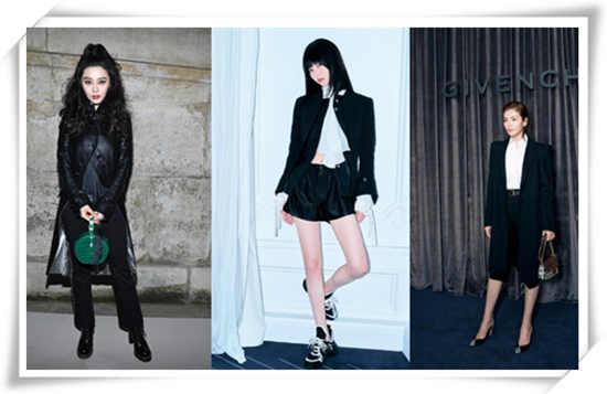 今年巴黎时装周流行穿什么?帅气的一身黑真的很有味道