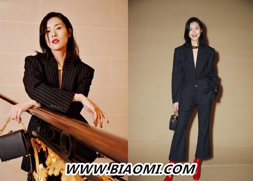 各种风格轻松驾驭 来看大表姐刘雯的巴黎时装周 热点动态 第2张