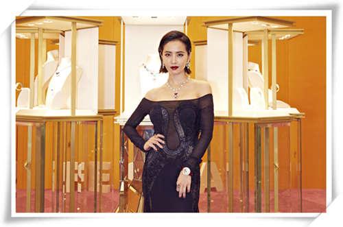 缺了时装周,FESTA珠宝展更华贵 蔡依林不愧为魅力女王