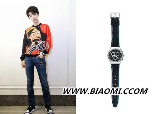 低调处女座的王俊凯是这样演绎Swatch腕表的 热点动态 第1张