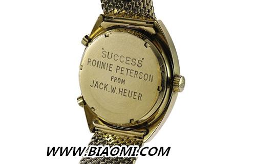 """它是最贵的""""泰格豪雅""""表复刻版 如今也要高价拍出 杰克·豪雅先生 罗尼·彼得森 罗尼·彼得森复制腕表 拍卖 泰格豪雅 手表百科  第3张"""