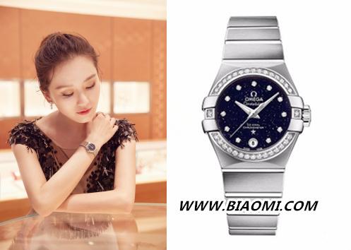 美背,天鹅颈外加优雅的星座腕表 这样的刘诗诗美到爆 热点动态 第2张