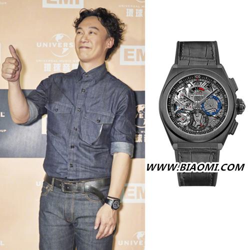陈奕迅:多买一只表,这次真力时 热点动态 第3张