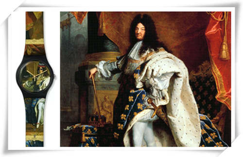 """王俊凯代言的手表品牌为""""太阳王""""路易十四设计了一款表?"""
