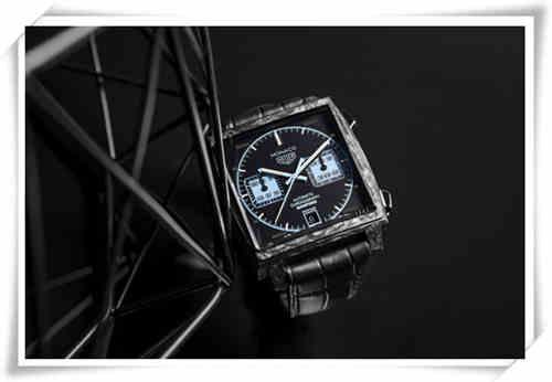 看一眼即可心跳加速的泰格豪雅Monaco Bamford合作款腕表?