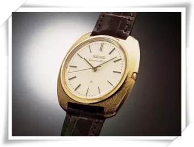 精工石英手表入选日本未来技术遗产?