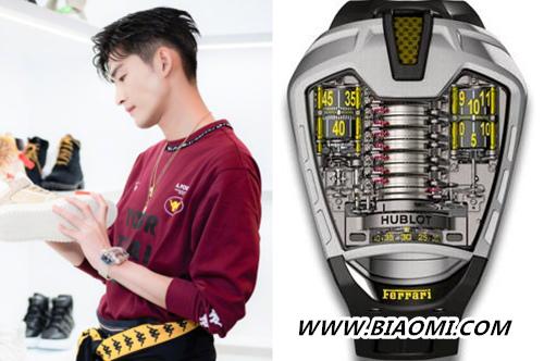《勇敢的世界》中张翰的腕表依旧十分豪气 热点动态 第1张