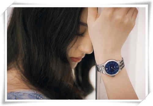 刘亦菲全新大片出炉 天梭杜鲁尔系列腕表是主角?