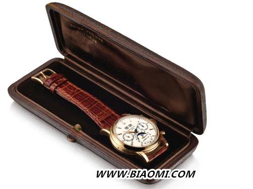 蒂芙尼&百达翡丽Ref.2499腕表 成为亚洲拍卖史上最贵腕表 热点动态 第4张