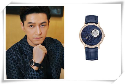 胡歌首次去日内瓦表展 佩戴的陨石腕表是亮点?