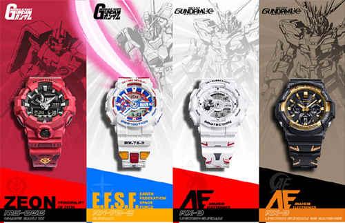卡西欧与万代合作推出 G-Shock 高达 40 周年特别款