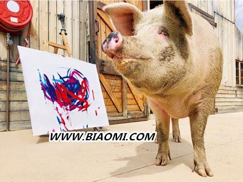 猪界毕加索的跨界之作?一头猪的能量竟如此强大 猪界毕加索 Swatch 猪加索 名表赏析  第1张