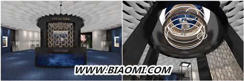 飞亚达表官宣:冯绍峰成为品牌代言人 「飞亚达空间站」主题展隆重开幕 风致系列 高圆圆 冯绍峰 心弦系列 飞亚达 名表赏析  第1张