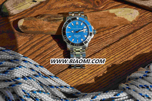 蓝色时刻 柏拉维系列腕表炫酷设计 沁爽炎炎夏日 名表赏析 第4张