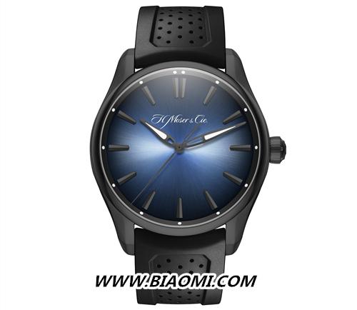 开拓者大三针电光蓝黑色版腕表展开环游世界之旅 名表赏析 第4张