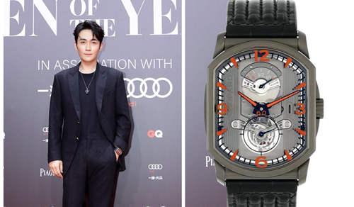 朱一龙佩戴优雅现身GQ盛典 腕上价值60万的手表是亮点?
