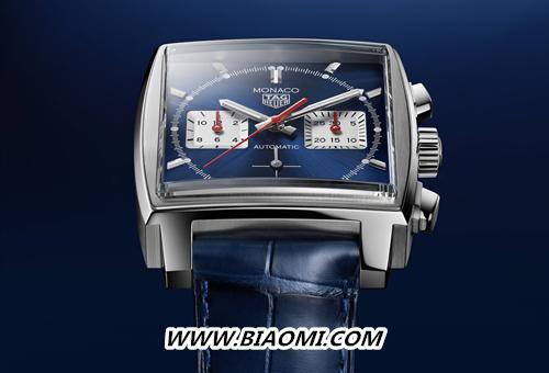 TAG Heuer泰格豪雅Monaco(摩纳哥系列)腕表搭载全新自制机芯,引领前卫先锋制表技艺 名表赏析 第1张